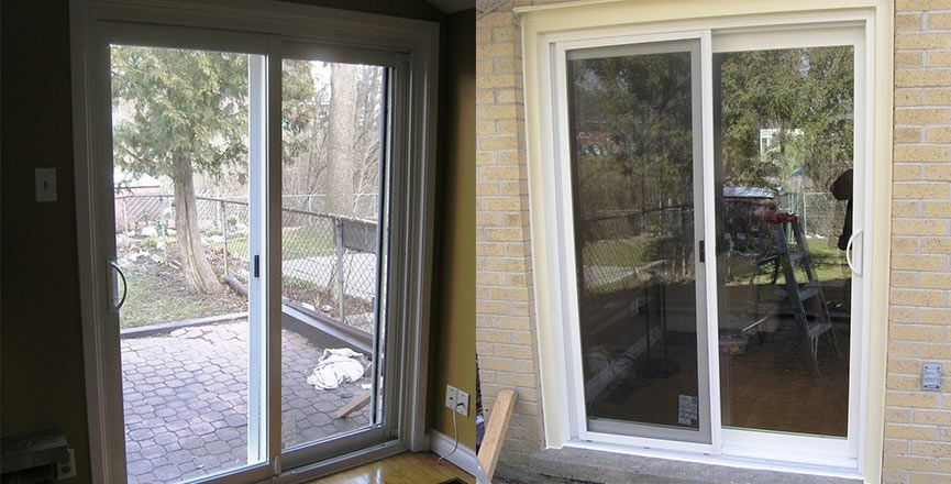 Which Window Treatment To Install On Sliding Doors Toronto Sliding