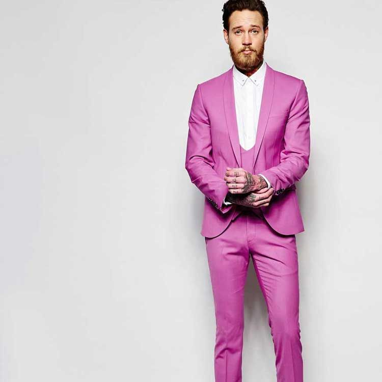 Pink For Men - Look Mean In PInk - Men Style Fashion | stilo | Pinterest