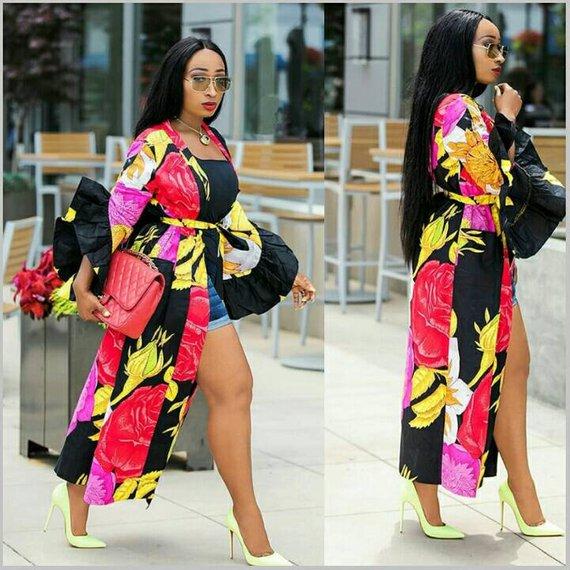 6fca705bc60 African print kimono jacket
