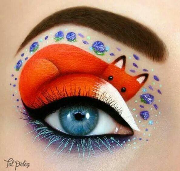 Passionate Makeup Painting By Tal Peleg Fox Creative Eye