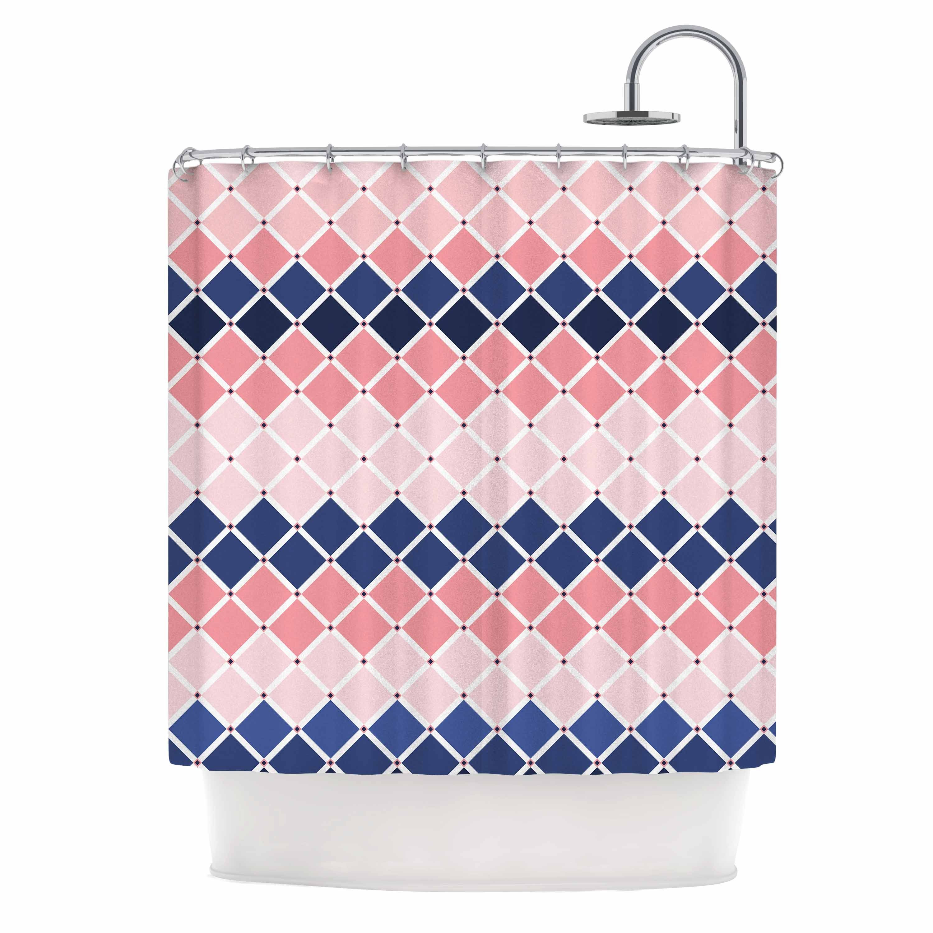 shower curtains bloom victoria inhouse chelsea kess curtain itm