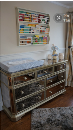 Mirrored Dresser Changing Table Z Gallerie