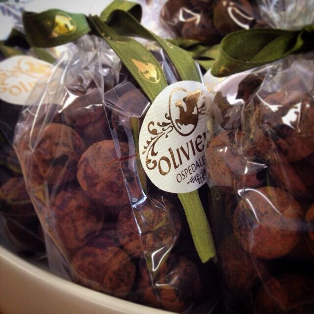 Delectable hazelnut truffles. Great for a present or a personal treat.