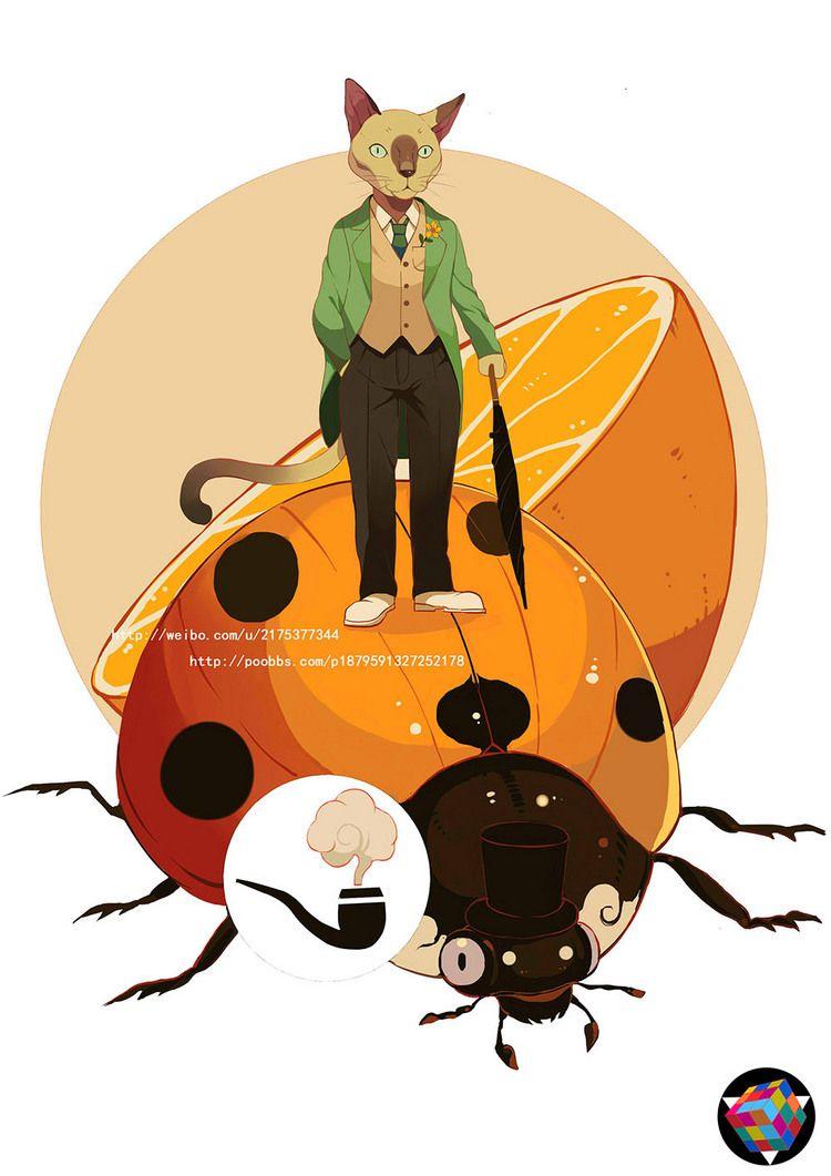 虫子虫子2。_涂鸦王国 原创绘画平台 www.poocg.com