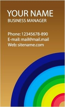 download desain kartu nama business card template corel draw