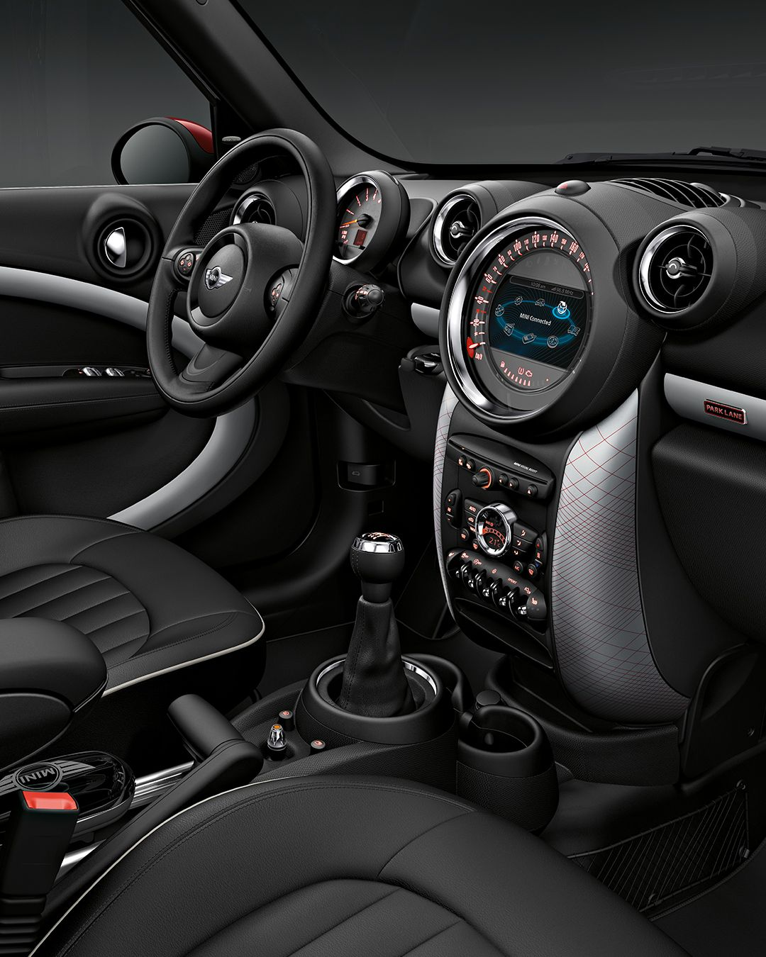 Nice Rugged Capabilities, Refined Interior. The Well Tailored Interior Of The  MINI Countryman Takes You