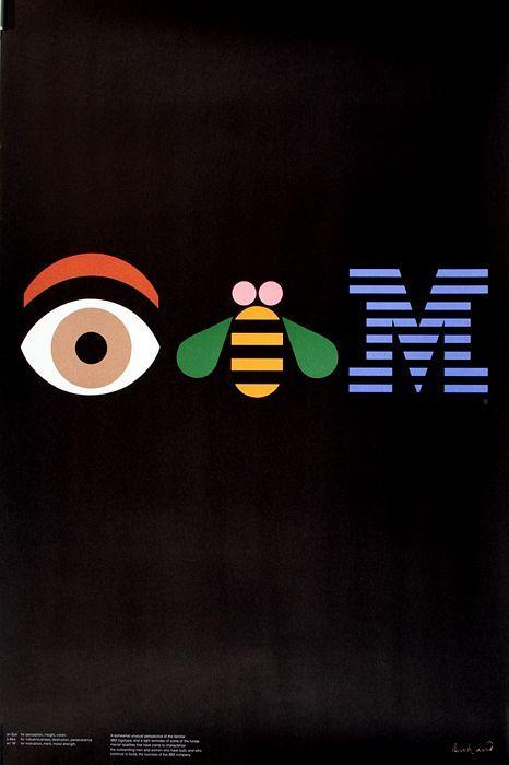 IBM par Paul Rand 1982