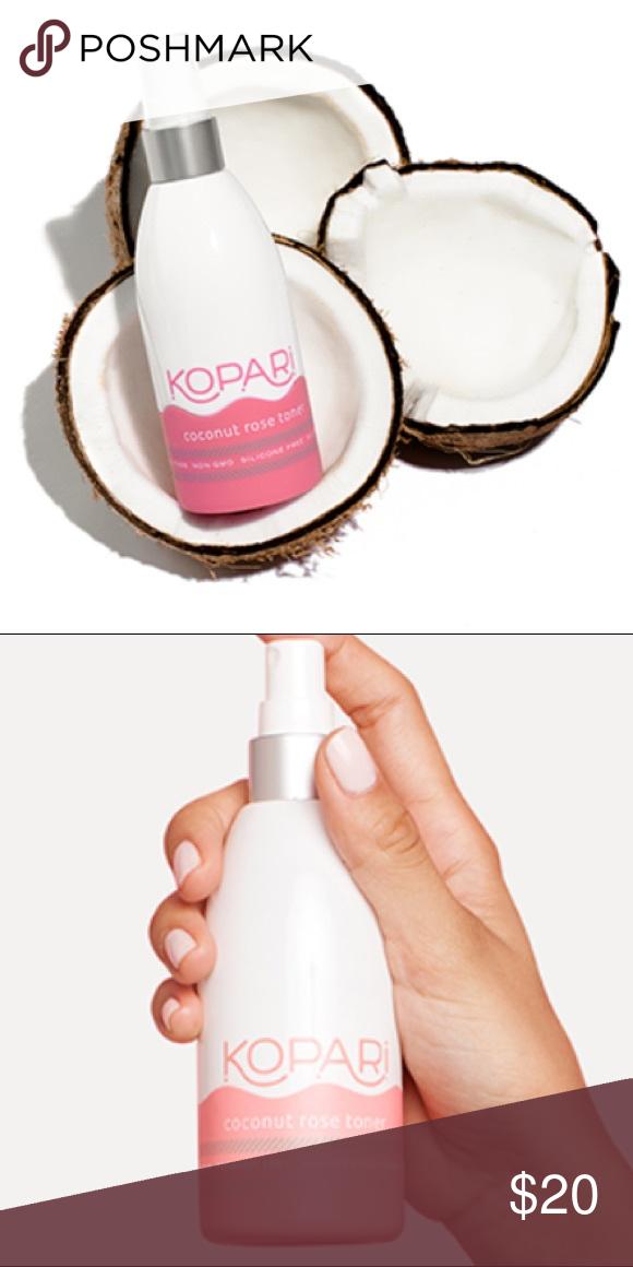 Kopari Coconut Rose Toner Rose toner, Toner, Rehydrate skin