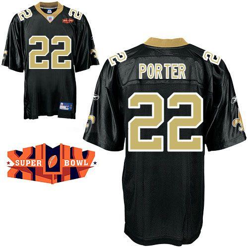 3d32f771b discount code for reebok new orleans saints tracy porter 22 authentic black  jerseys sale darren sproles
