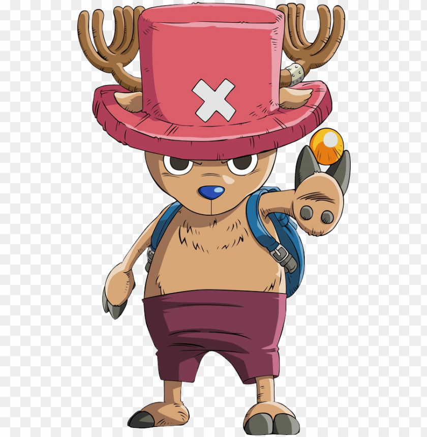 as you can probably tell chopper isn t exactly human tony tony chopper png image with transparent background png free png images cartoons png one piece chopper one piece tattoos