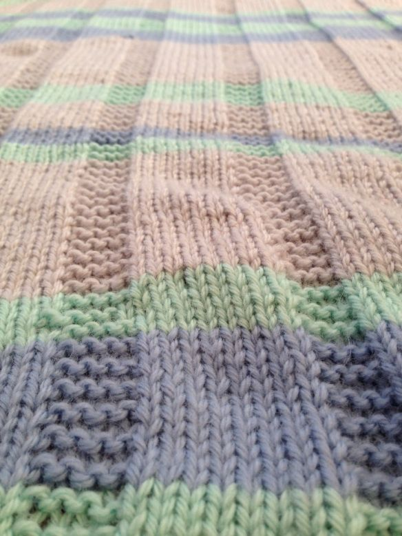 Simple striped baby blanket --Free Pattern | Knit | Pinterest | Free ...