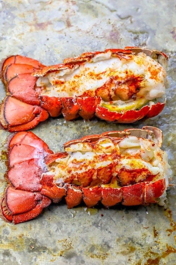 Perfect Oven Broiled Lobster Tails Recipe Oven Baked Lobster Tails Lobster Recipes Tail Lobster Recipes Broiled Lobster Tails Recipe