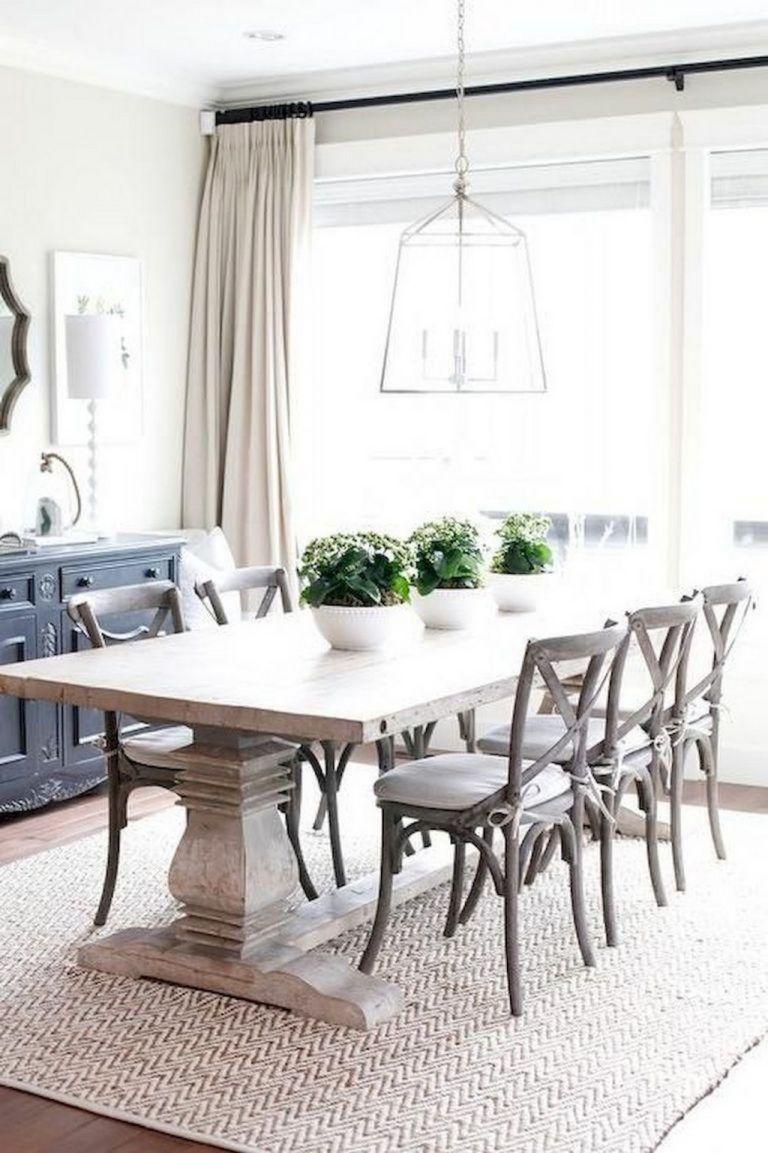 WHITE DINING ROOM ELEGANT DECORATIVE DECOR DINING ROOM