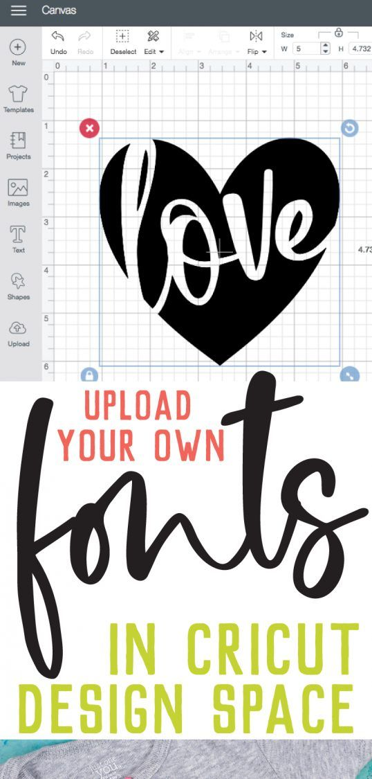 How to Upload Fonts to Cricut Design Space #cricutcrafts