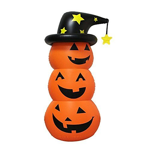 Halloween Pumpkin Decorations-Pumpkin Inflatable Roly-Pol   - halloween pumpkin decorations