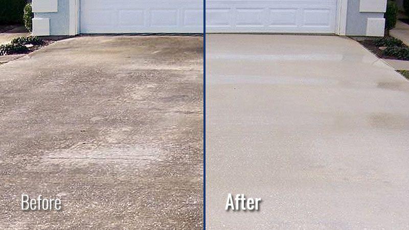 Power Washing Concrete Driveways Sidewalks Patios In Louisville