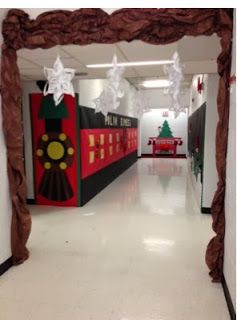 Polar Express Hallway