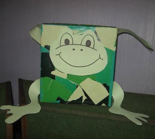 Frog. Box.