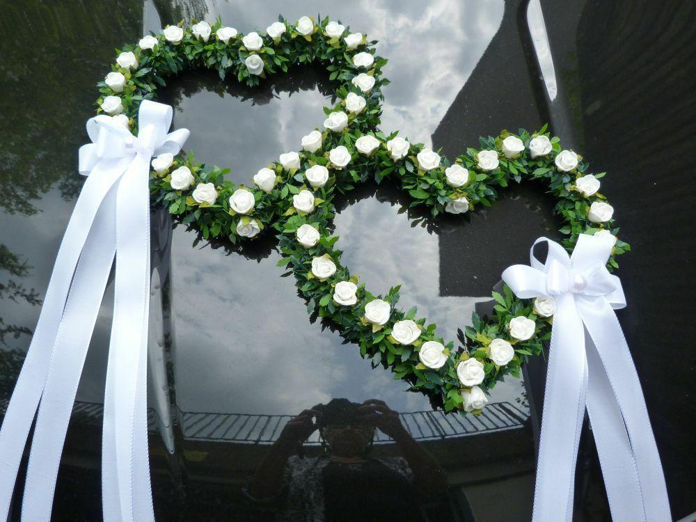 Autodeko Hochzeit Elegant Autodeko Autoschmuck Autogesteck