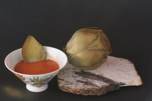 Artichoke, Catalina style salad dressing
