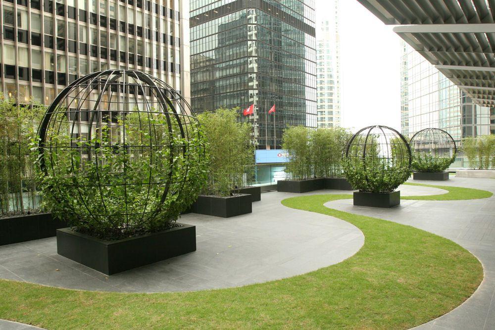Extensive Garden Roof Hong Kong Rooftop Design Landscape Design Minimalist Garden