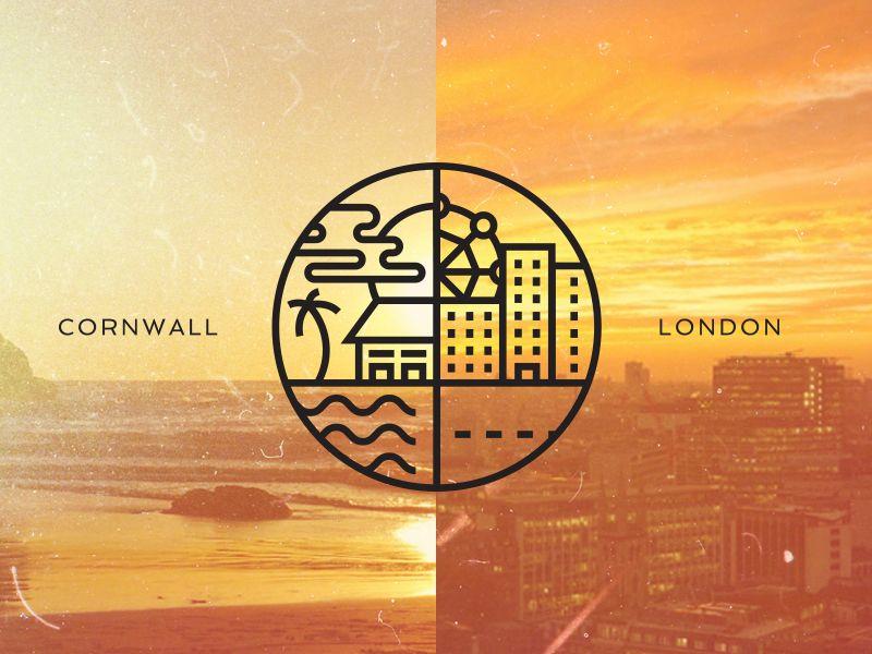 Cornwall London Icon Design Inspiration Icon Design Design Inspiration