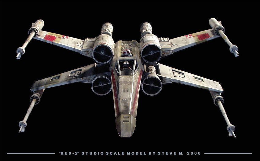 Star Wars Models, Star Wars Ships, X-wing