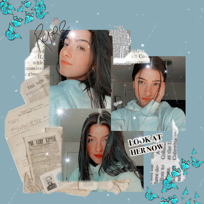 Freetoedit Charlidamelio Pcbeautifulbirthmarks Picsart Tiktok Icon Charliedamelio Tiktokers Girl In 2021 Photo Editing Charlie Video Picsart Edits