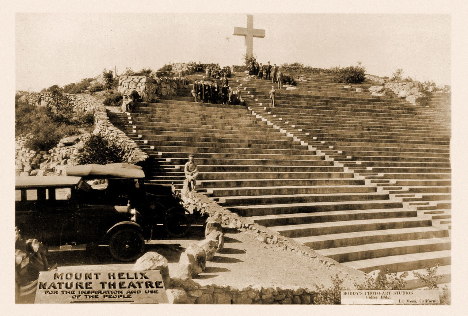Mount helix 1920s old photos san diego favorite places