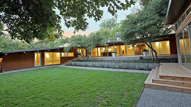 Mid Century Ranch pictures of 50's style ranch houses - google search | 50's