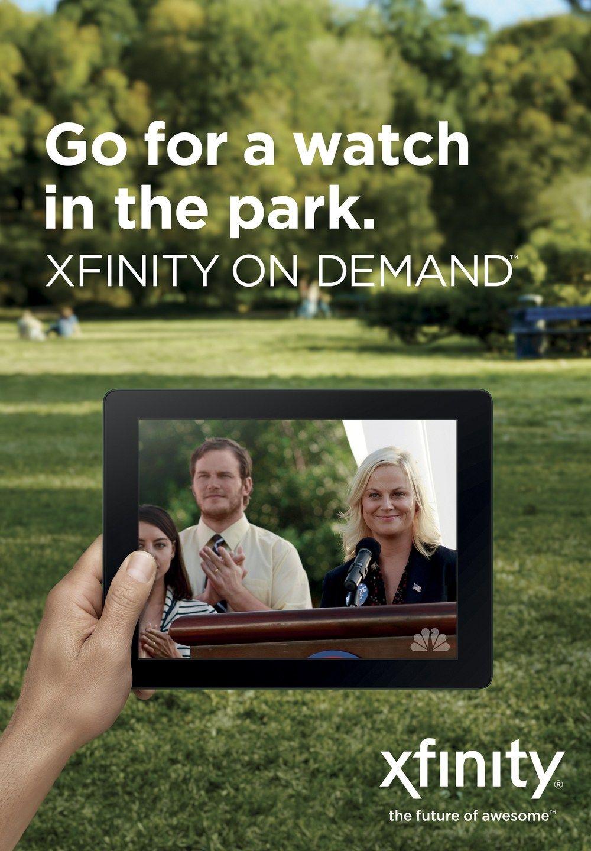 Xfinity Xfinity Love Xfinity on my iPadLive TV, On