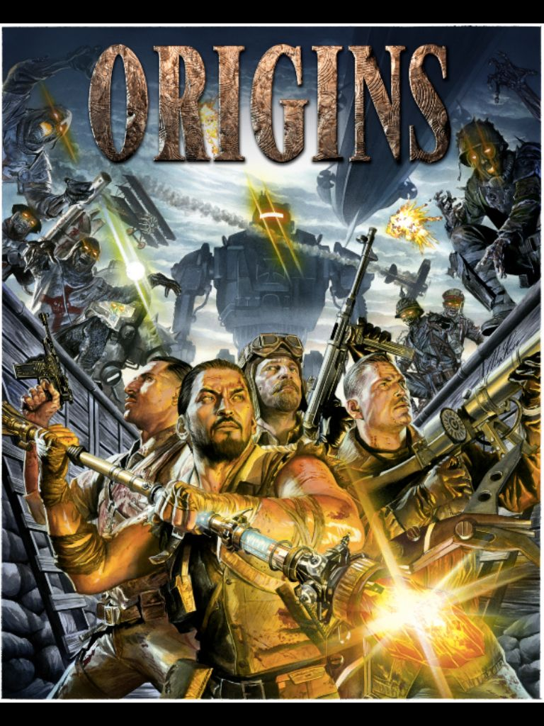 Origins Cover Art Call Of Duty Black Black Ops Zombies Call Of
