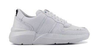 Dames Sneakers in Leder (Wit) | Sneaker, Schoenen sneakers ...
