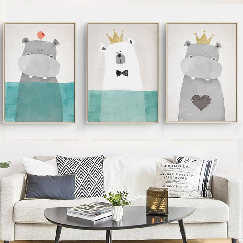 Cute Animal Canvas Prints