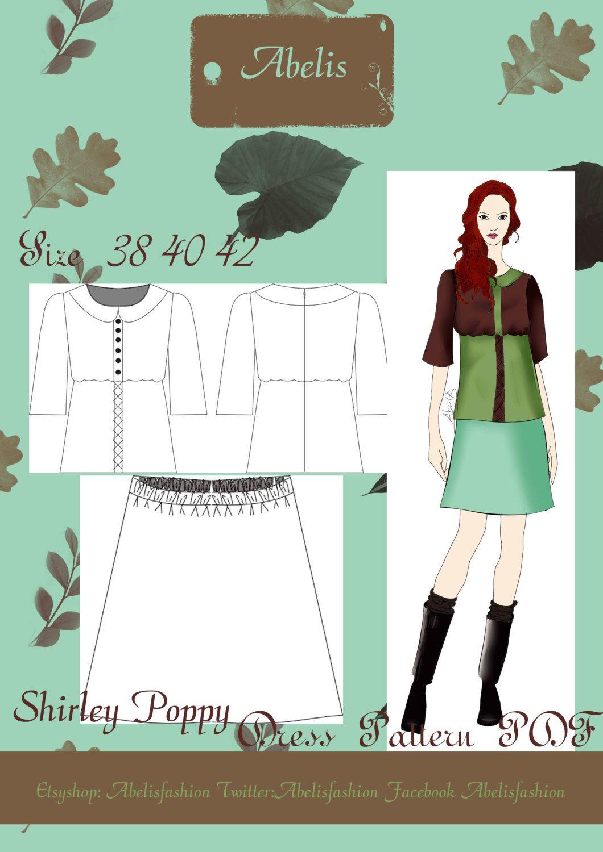 de AbelisFashion en Etsy | Patrones/ Sewing patterns | Pinterest