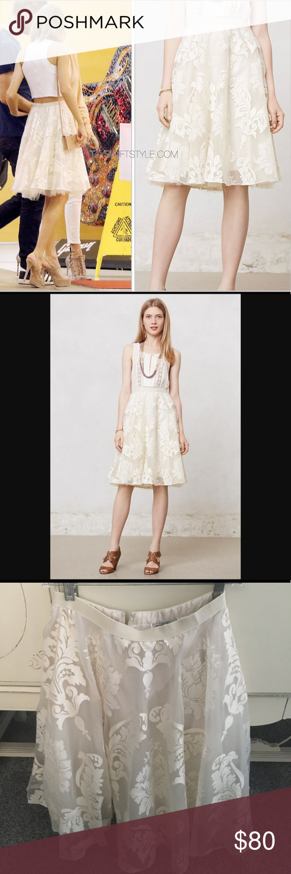 f2526b96851fe Anthropologie Emeline Tulle Skirt ASO Taylor Swift Gorgeous NWOT Emeline  Tulle Skirt by Anthropologie / Yoana Baraschi. Size 0. As worn by Taylor  Swift.