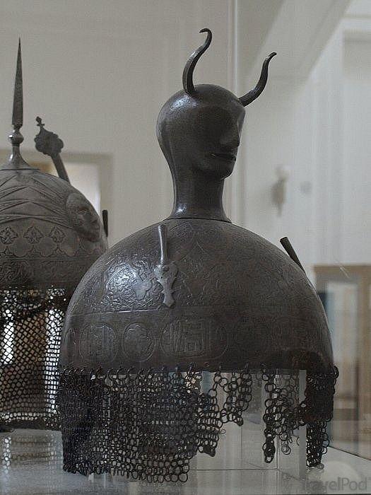 Slovak National Museum - Turkish Helmet by TravelPod Member Eundel