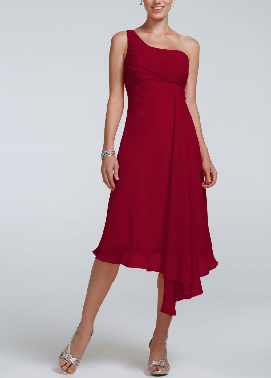 Short one shoulder crinkle chiffon dress davids bridal short one shoulder crinkle chiffon dress davids bridal loveeeeee thiss different color ombrellifo Choice Image