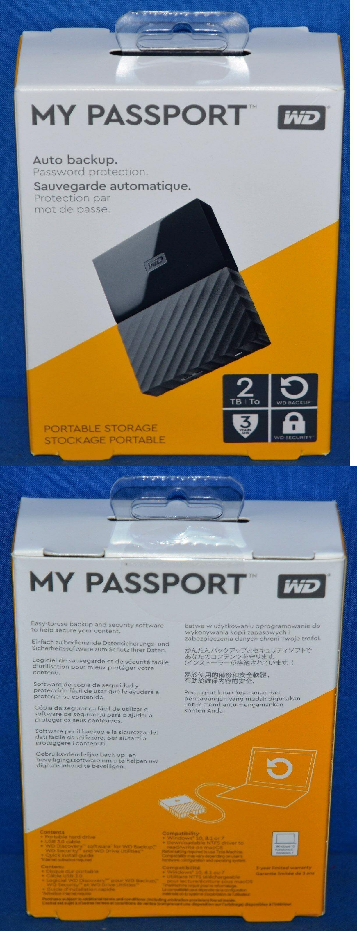 External Hard Disk Drives 131553: Wd 2Tb My Passport Portable