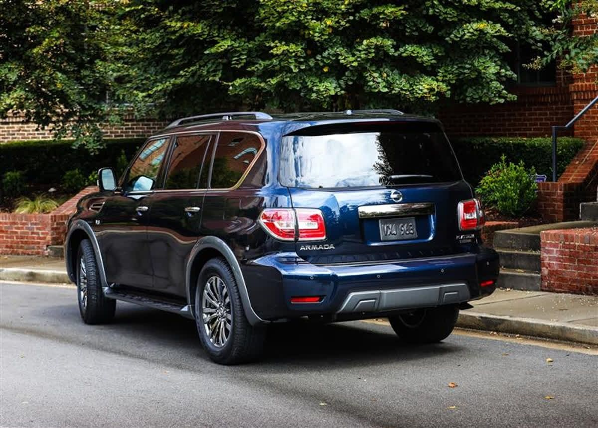 Since The Armada Is Known For Hauling Families Around It Is Comforting To Know That Nissan S Advanced Safety System Is Available Nissan Armada Nissan Armada