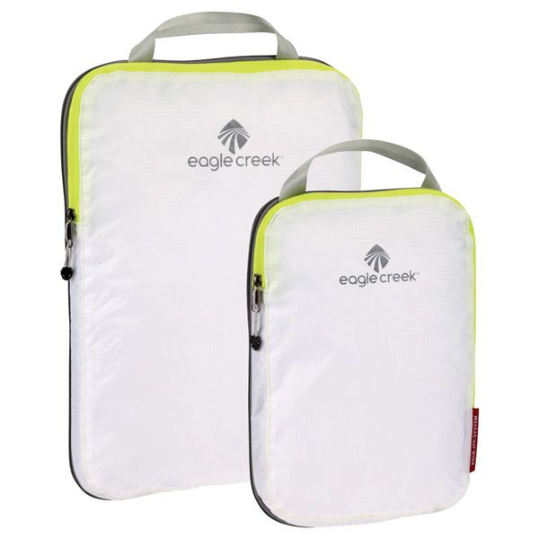 Eagle Creek™ Specter Pack-It™  Compression Translucent Set of 2 (The Container Store) (I wish it came in blue.)