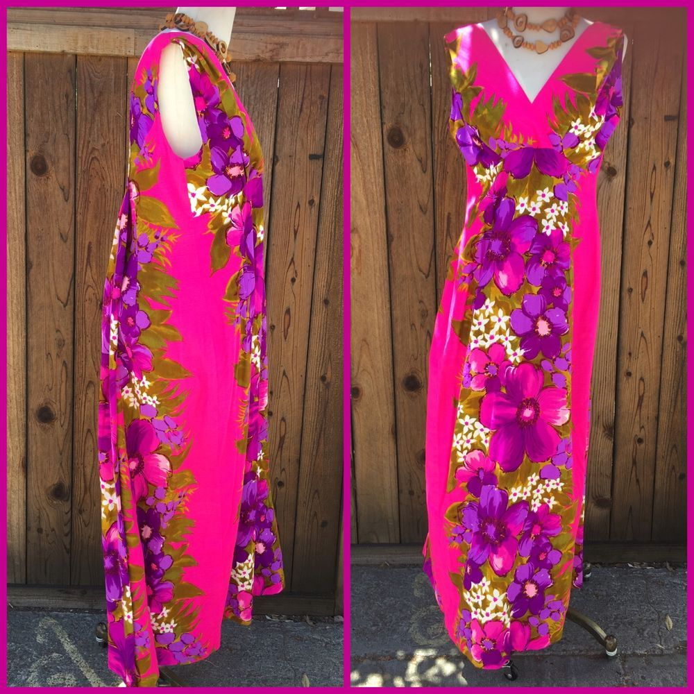 Hawaiian Dress Skirts N Blouses Speciality Shop Honolulu Size Medium | eBay