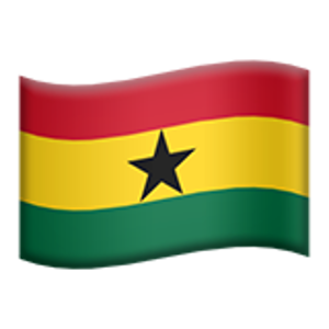 Flag Of Ghana Emoji Ghana Flag