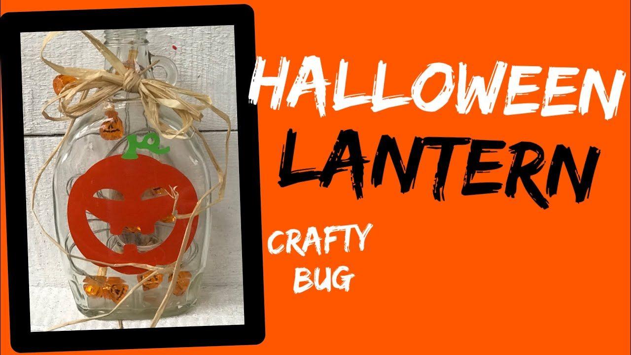 Halloween Lantern Diy Up Cycled Maple Syrup Jar Reuse