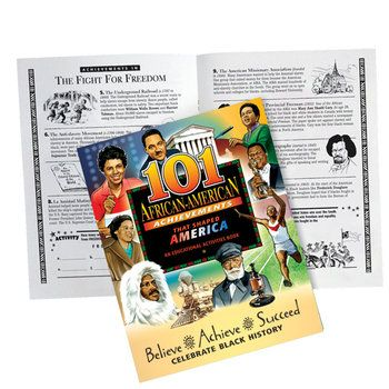 101 African-American Achievements That Shaped America Educational Activities Book  Item # KCB403P