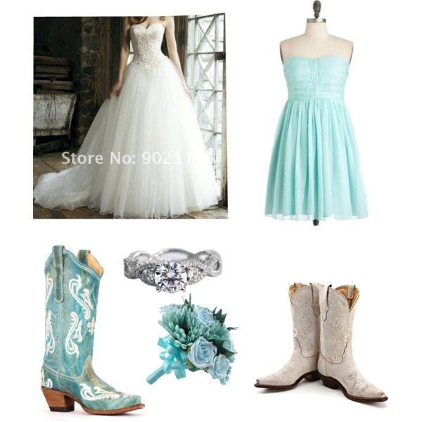 My Dream Country Beach Wedding By Abbyamado On Polyvore Featuring Tony Lama And