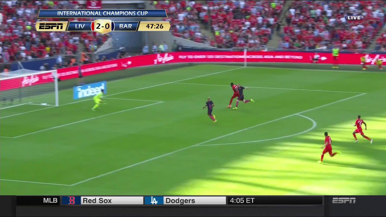 D Origi Scores Against Barcelona 3 0 R Soccer Soccer Barcelona Scores