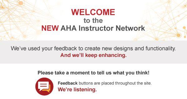 Aha Instructor Network Home Aha Networking American Heart Association