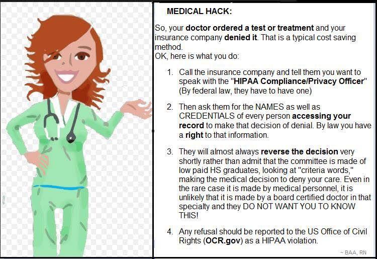 Insurance hack medical insurance medical medical claims
