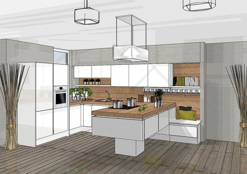 Een 3d ontwerp van je keuken simpel en snel for Ontwerp je keuken in 3d